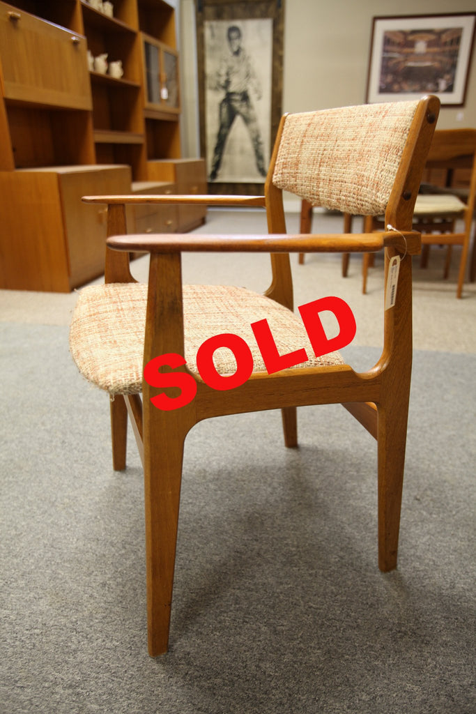 Mid Century Teak Arm Chair