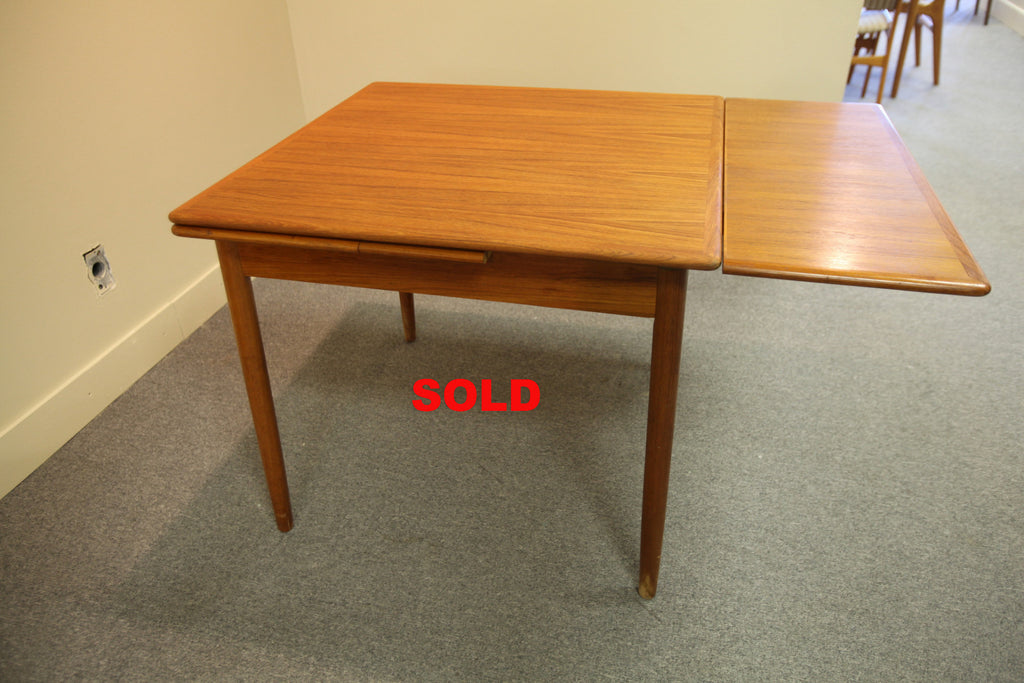 Small Teak Extension table (60x34)