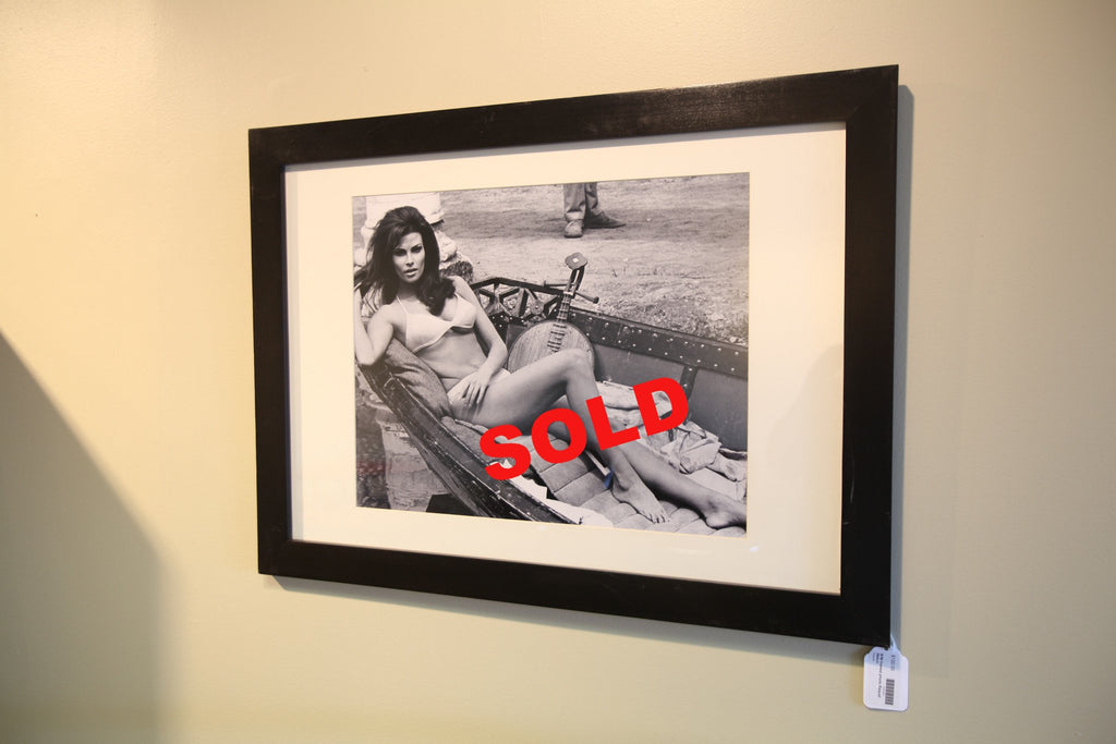 Raquel Welch Framed Photo