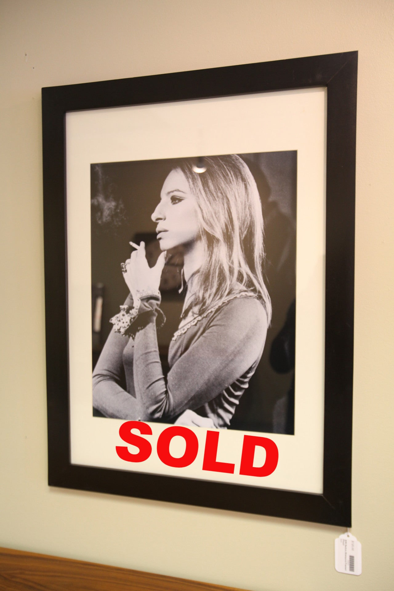 Barbra Streisand Framed Photo