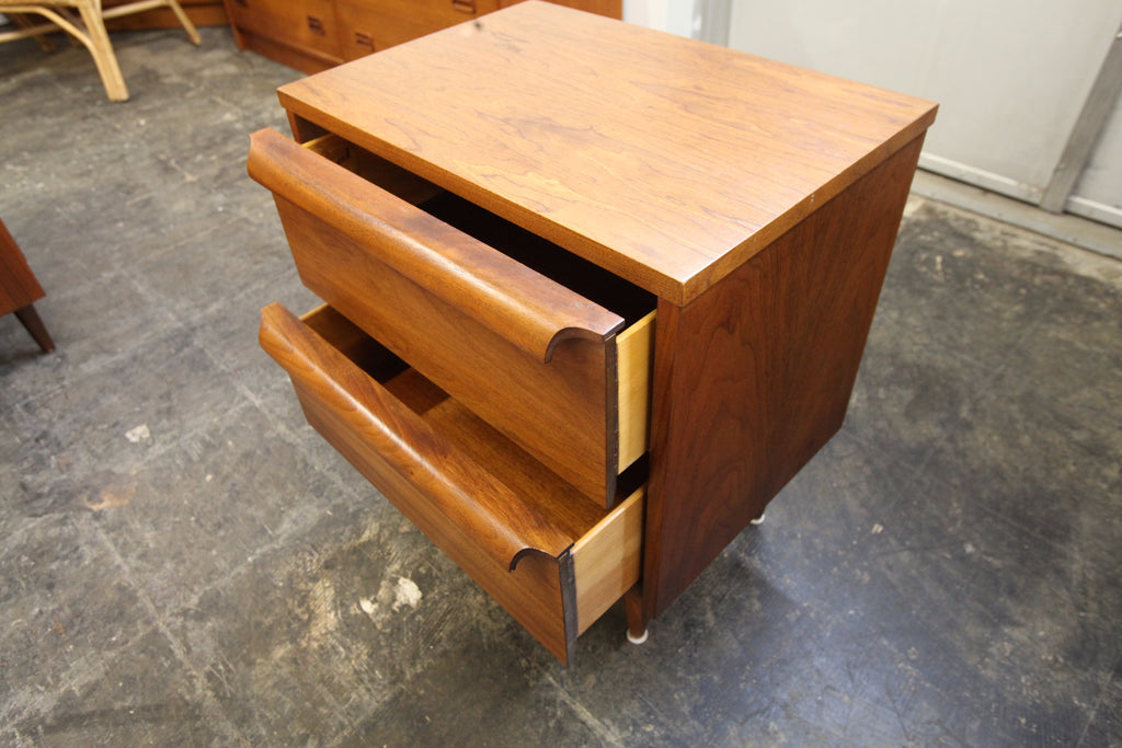 "Vintage Walnut Night Stand by Viscol (20""W x 15""D x 24.25""H)"