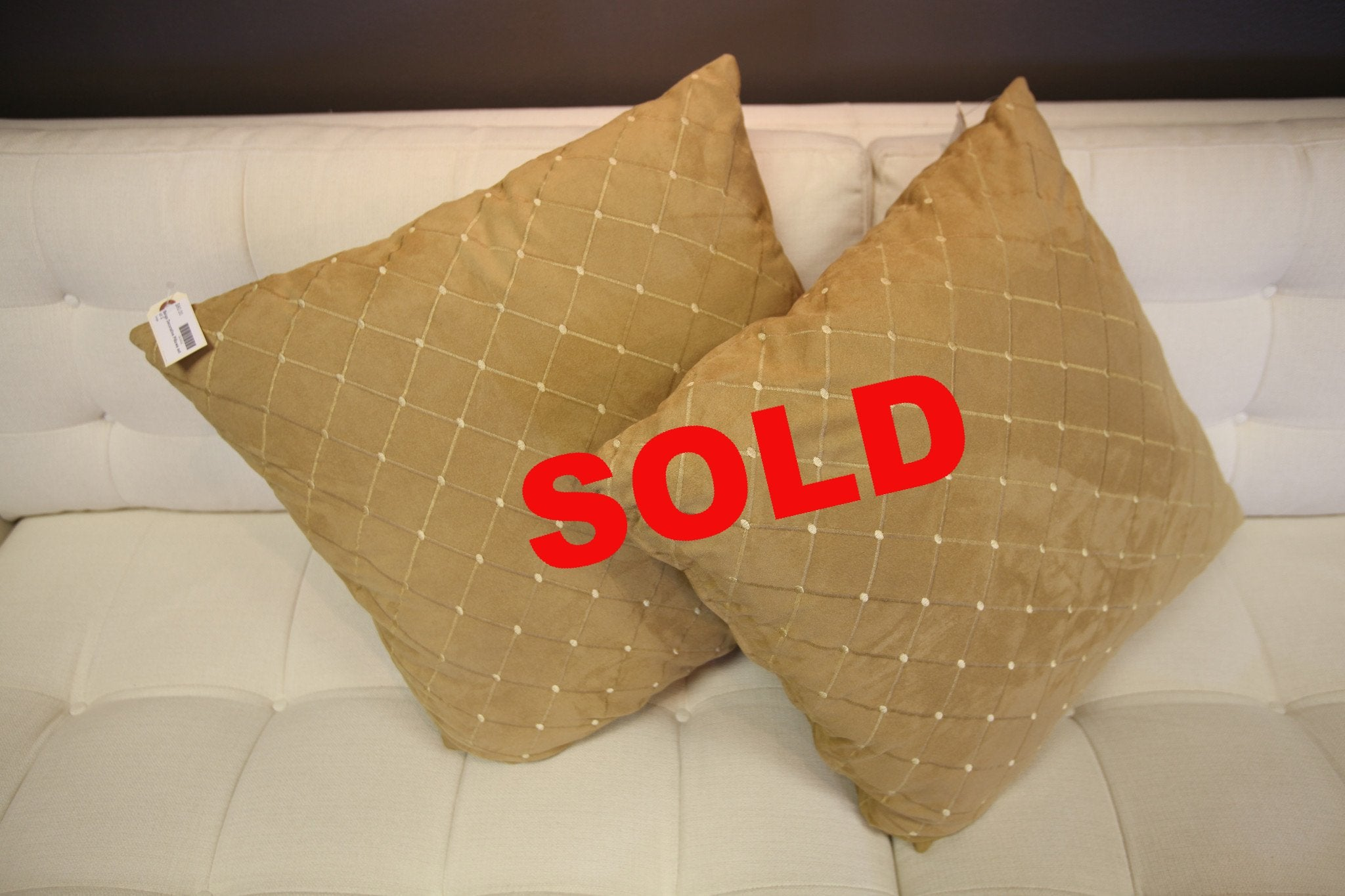 Beige Decorative Pillows (set)
