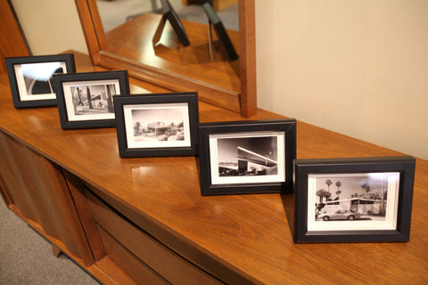 Jim Riche Framed Note Card (8x6) various