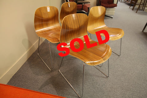 Modern Ply Chair (set of 2)