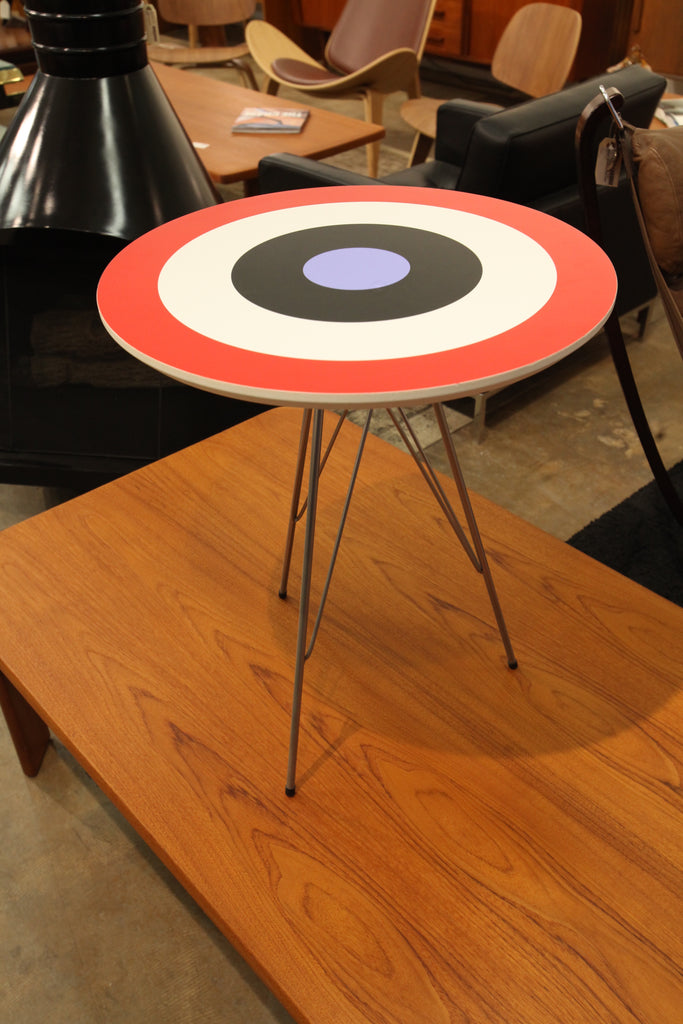 Very Rare Douglas Coupland  Hockey Night in Canada Side Table by Pure Design