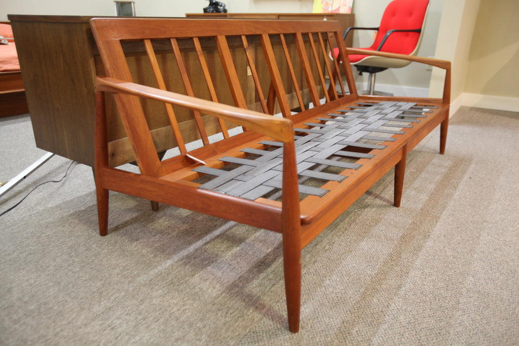 "Danish Teak Sofa Frame (71"" long)"