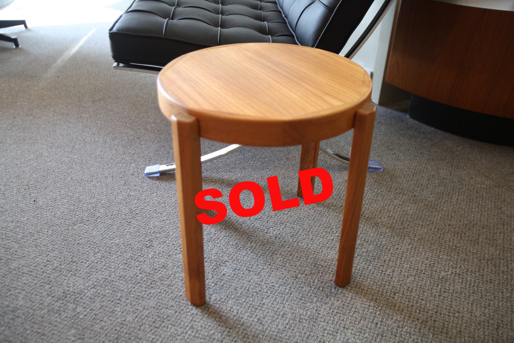 Small Danish Side Table