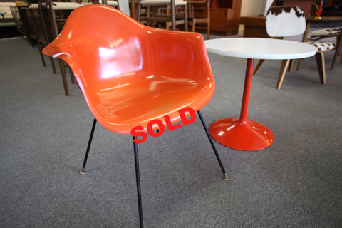 Eames Chair and Side Table