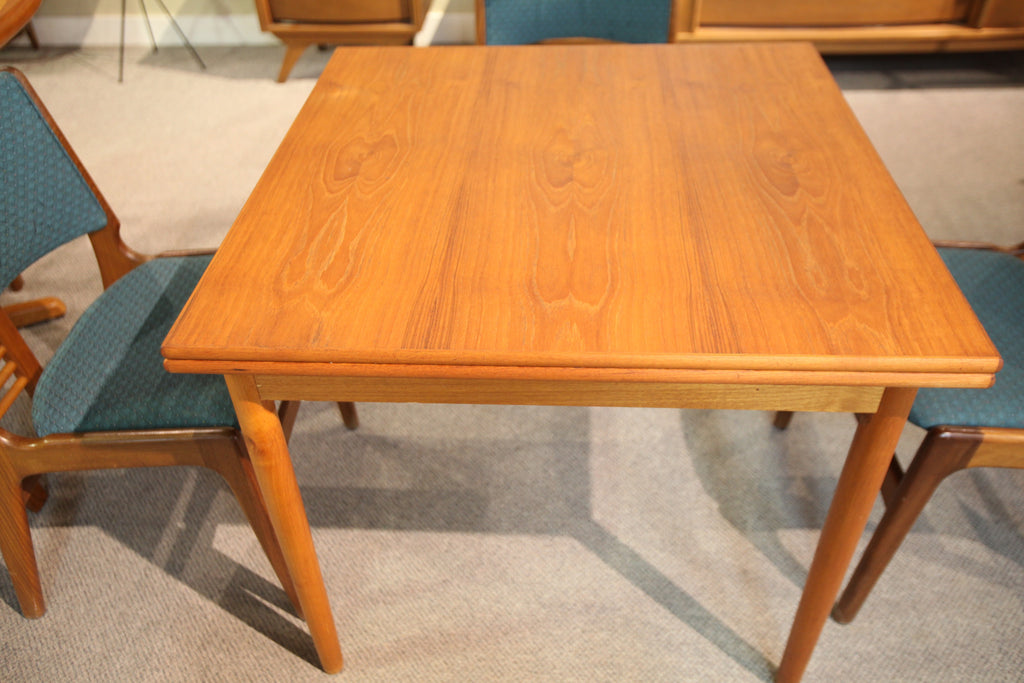 "Teak Square Extension Table (58.5""x33.5"") or (33.5""x33.5"")"