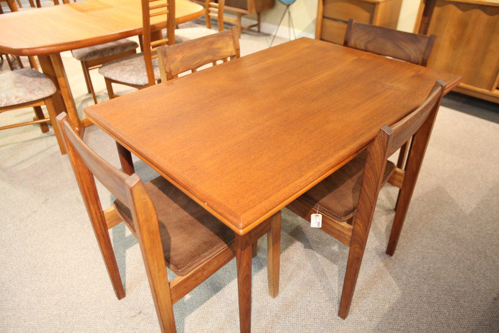 "Teak Extension Table (85x32.5) or (48""x32.5"") (Small imperfection on surface)"