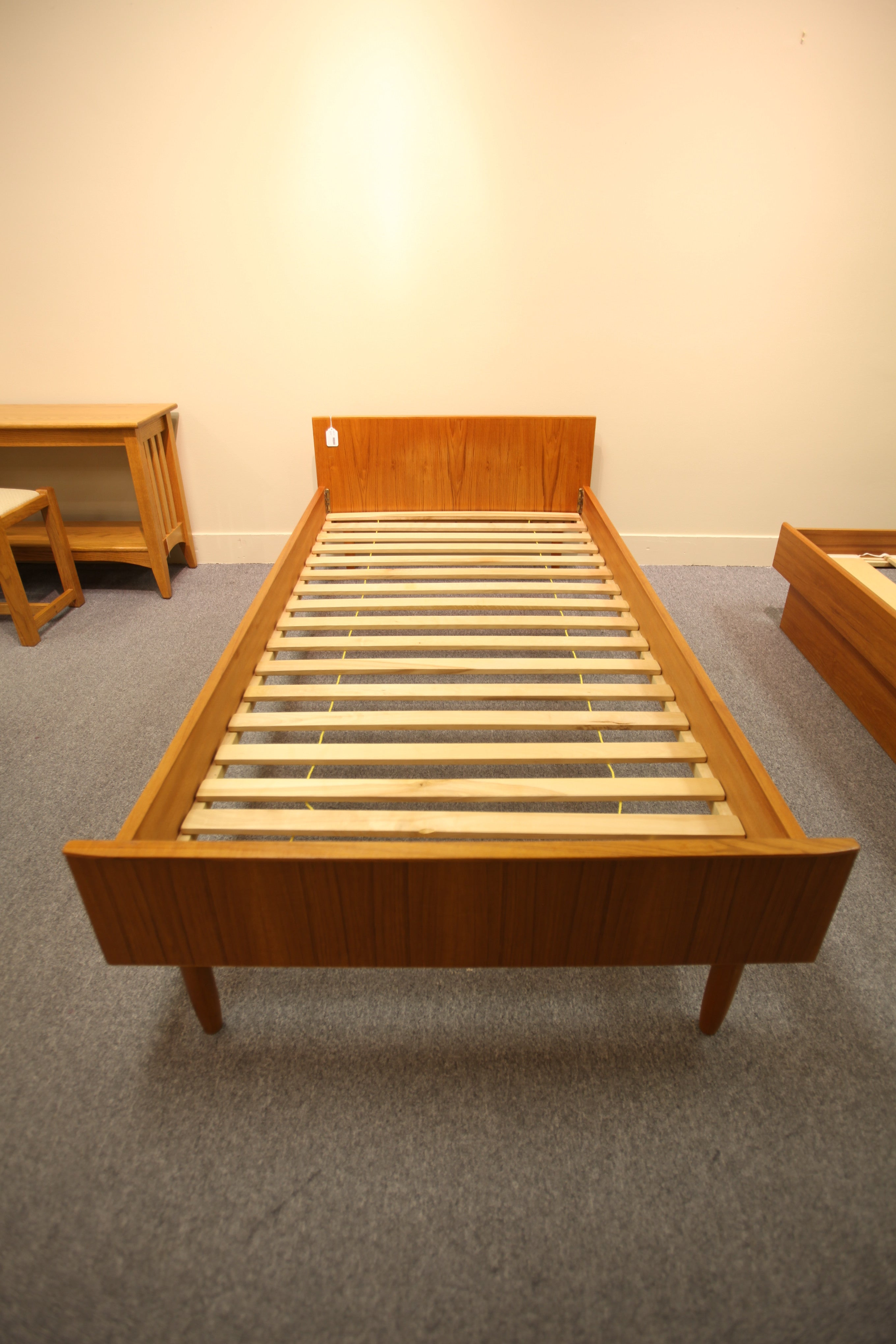 Mid Century Teak Single Bed