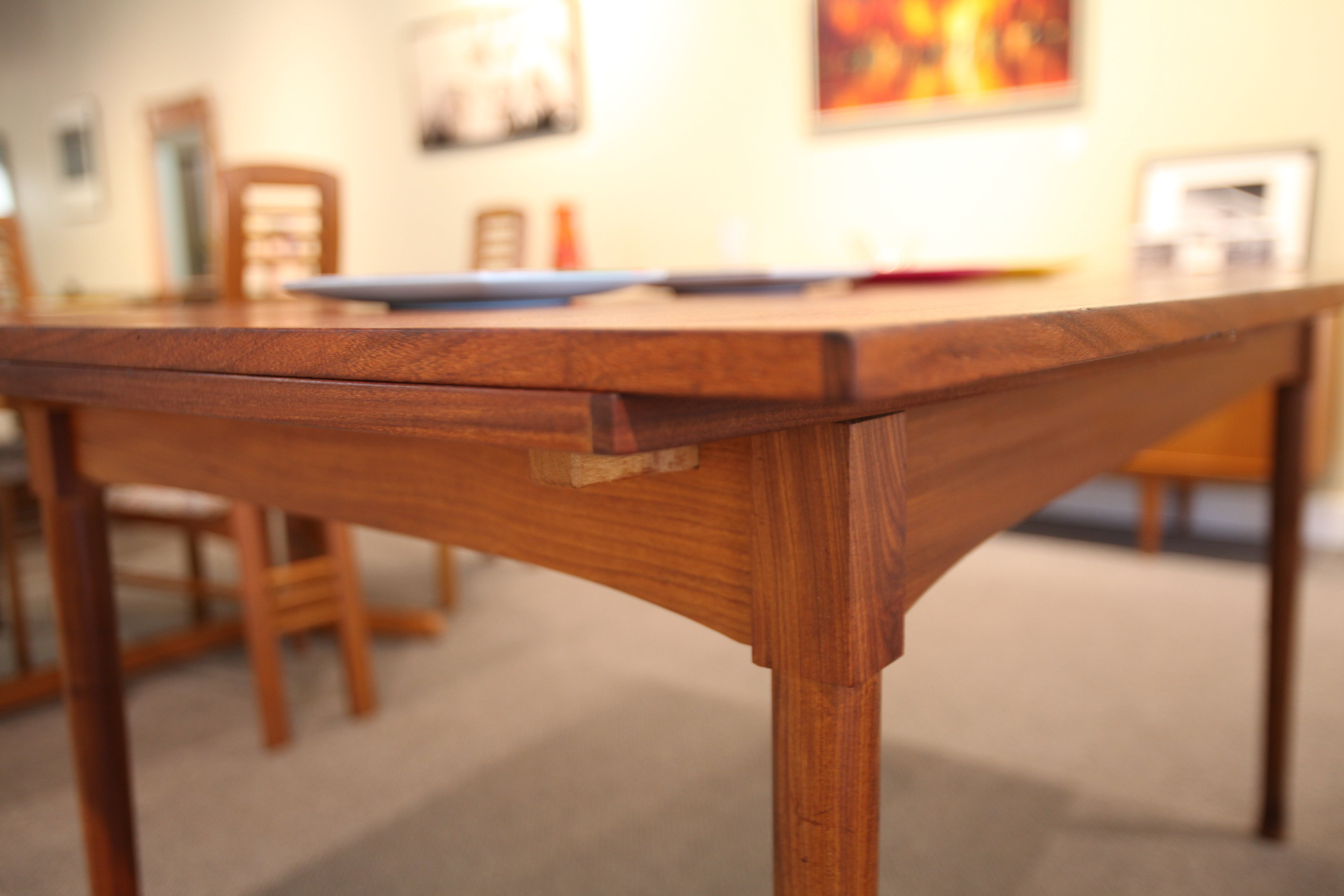 "RS Associates Teak Table with Extensions (58"" x 37"") or (98"" x 37"")"