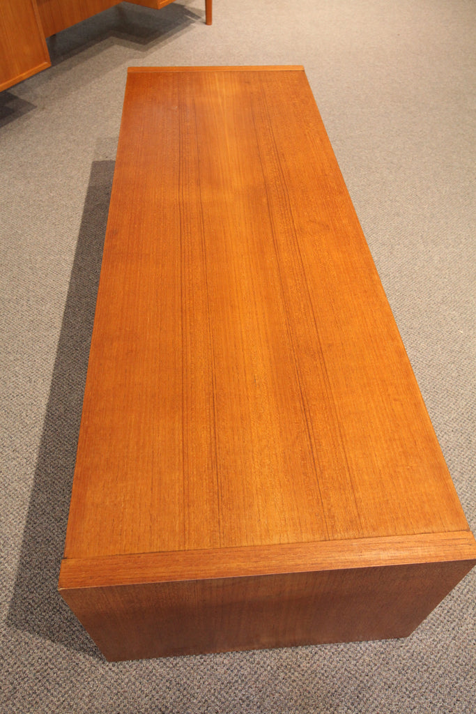 "Long Teak Coffee Table (60"" x 21"" x 15.25"")"