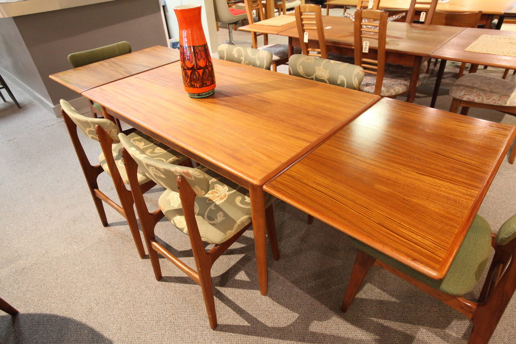 Danish Teak Extension Table (52.5 x 33.5) or 93.5 x 33.5)