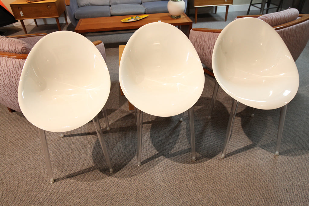 """Mr. Impossible"" Chair by Kartell (Glossy Opaque White)"