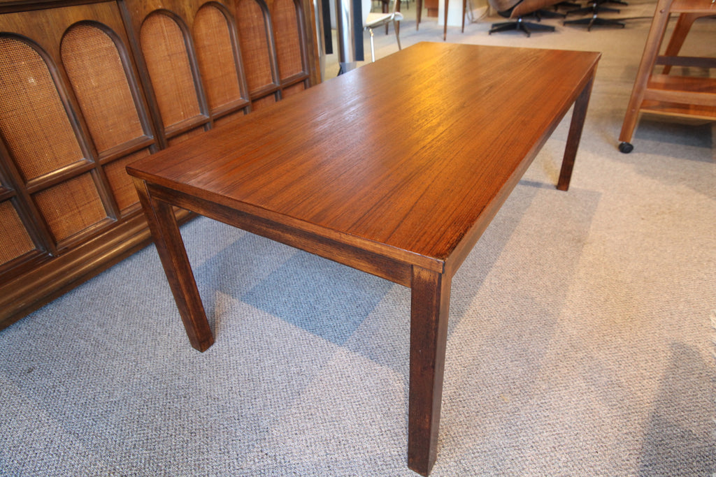 "Teak Coffee Table (50""L x 24.75""W x 19""H)"