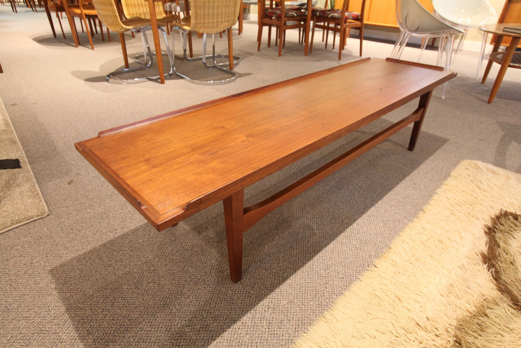 "Fabulous Teak Surfboard style Coffee Table (66""L x 18""W x 15.5""H)"