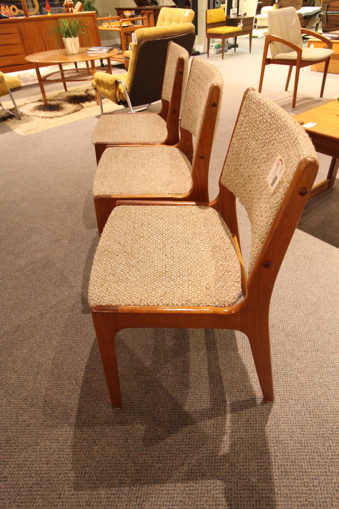 Set of 2 Danish Teak Chairs