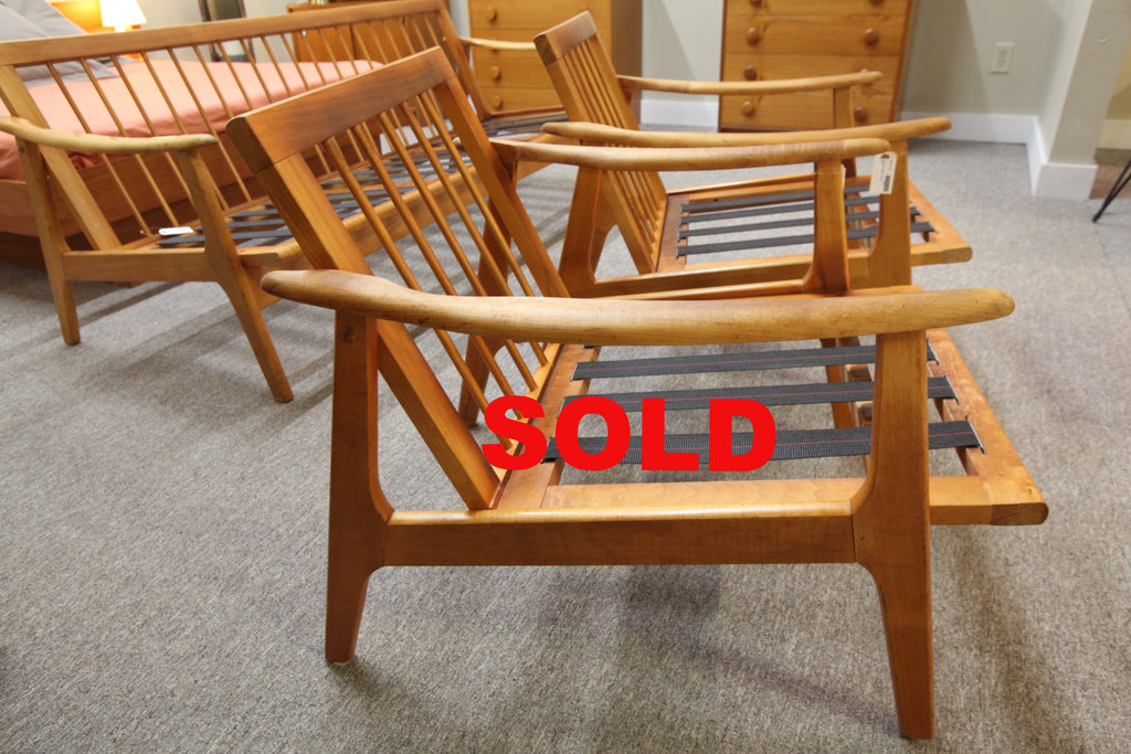 Danish Teak Chair Frame (2 Available)