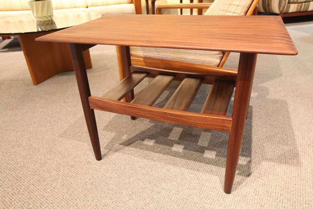 "Mid Century Imperial Side Table (30""L x 19""W x 22""H)"