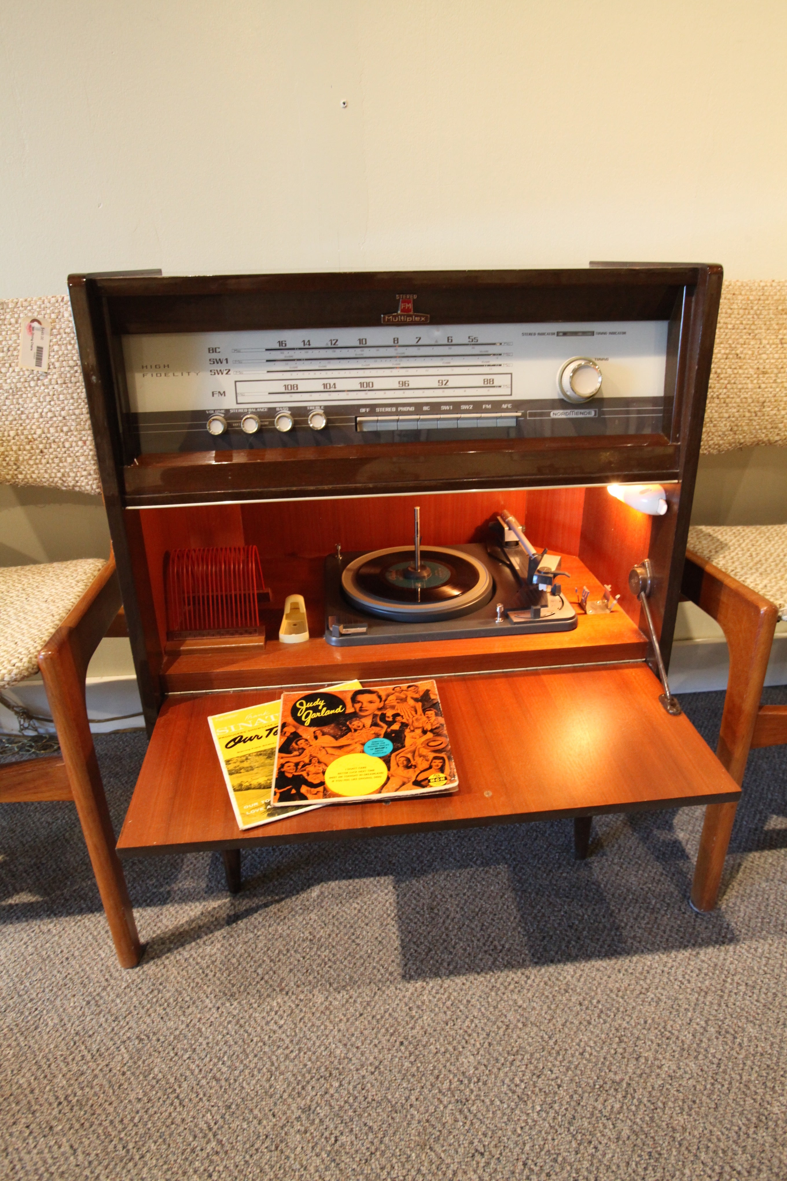 Normende Caruso Special C Stereo/Phono Cabinet (Germany early 60's)