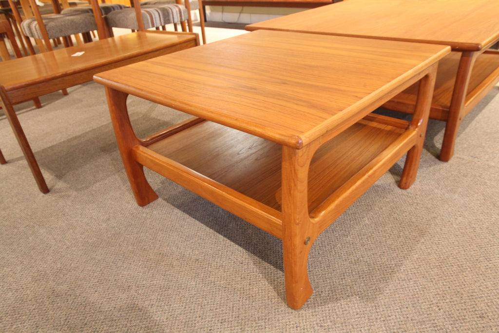 "Teak Side Table (29' x 29"" x 18""H)"