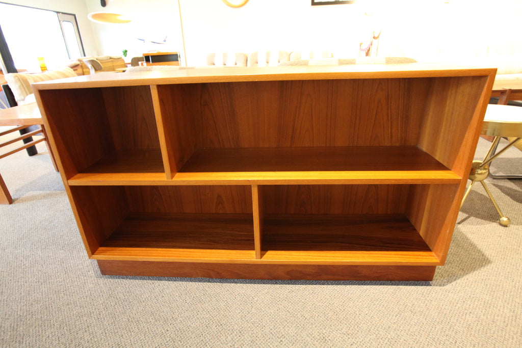 "Danish Teak Book Shelves (47.5"" x 11.75"" x 28"" H)"