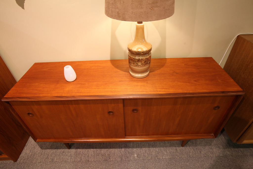 "Beautiful Danish Teak Credenza (60""L x 18""D x 30""H)"