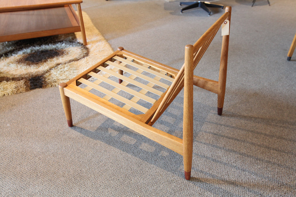 Folks Ohlsson for Dux mid Century 1960's Danish Oak Chair