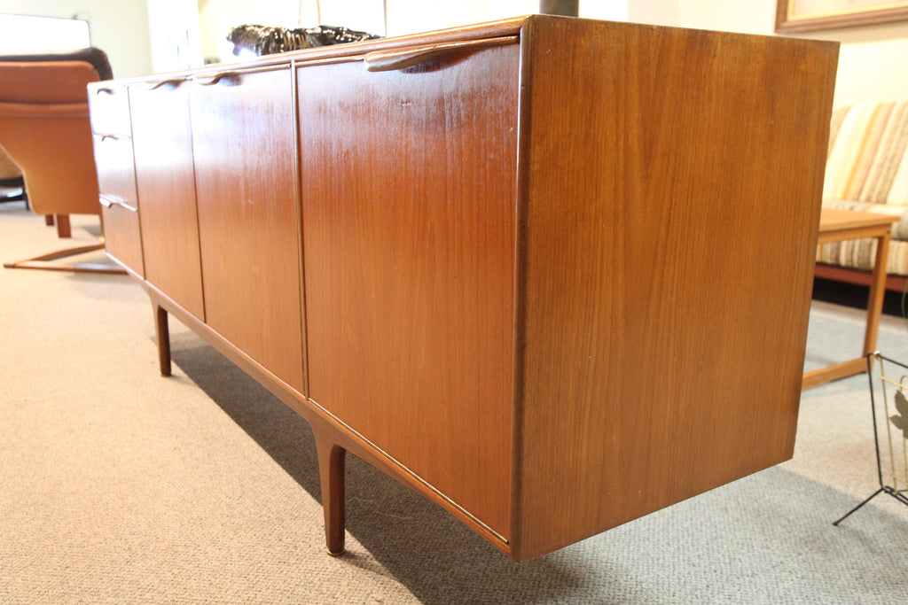 "A.H. Mcintosh Teak Credenza (Scottish 60's) (79""L x 18.5""D x 29.5""H)"