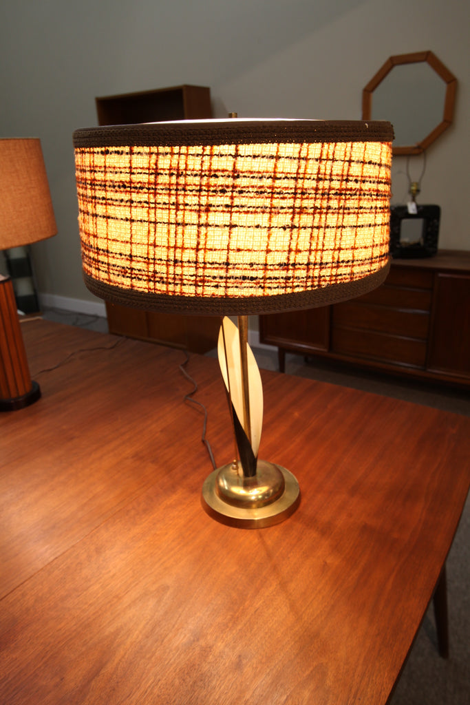 "Mid Century Table Lamp (24.5""H)"