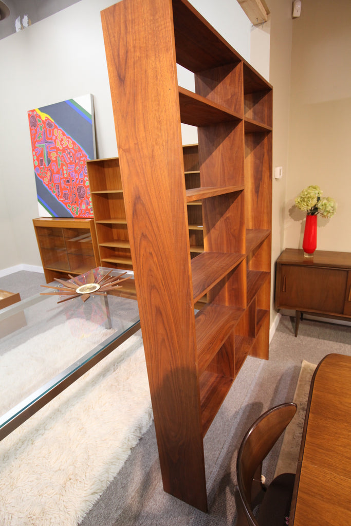 "Teak Shelf or Wall Unit Divider (52""W x 81""H)"