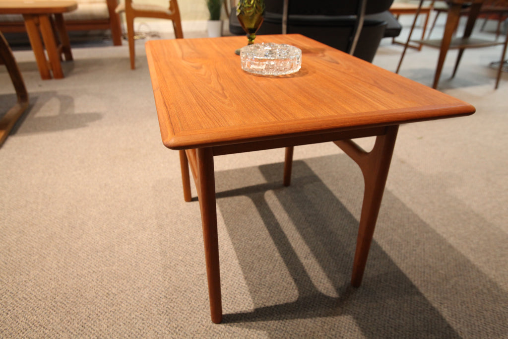 "Danish Teak Side Table (29""L x 20""W x 20.5""H)"