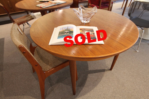 "Round Teak Table (43.25"" Dia)"
