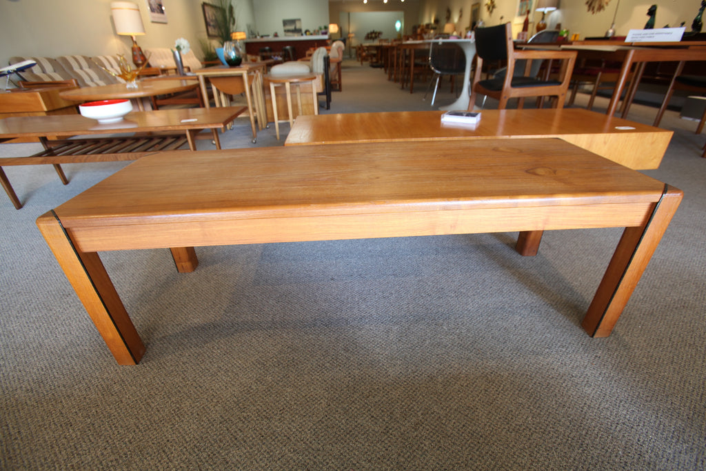 "Hornbaek Mobelfabrik Teak Coffee Table (51""L x 17.5""W x 17""H)"