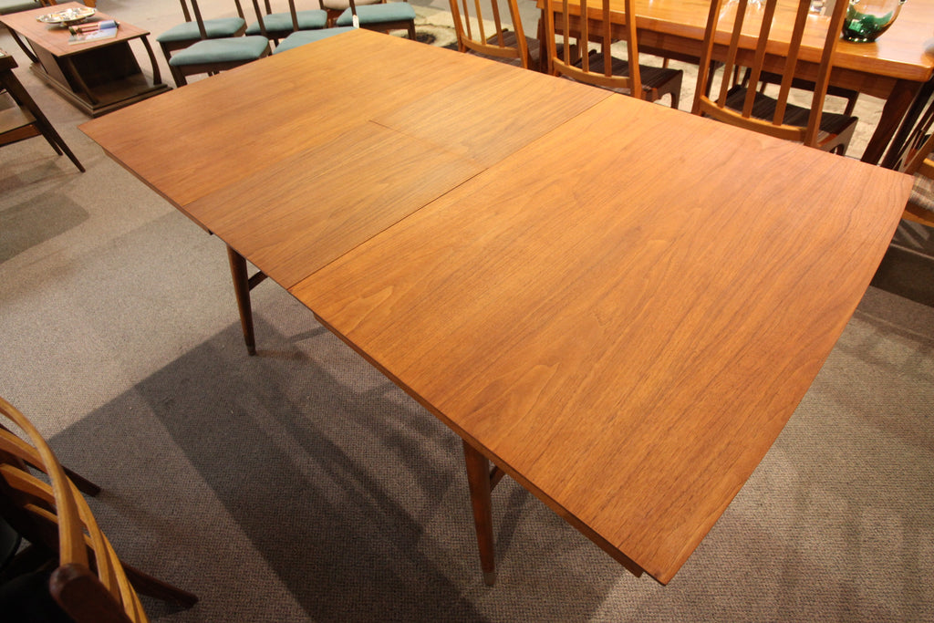 "Vintage Walnut Butterfly Leaf Table by Krug. (72"" x 40"") or  (55"" x 40"")"