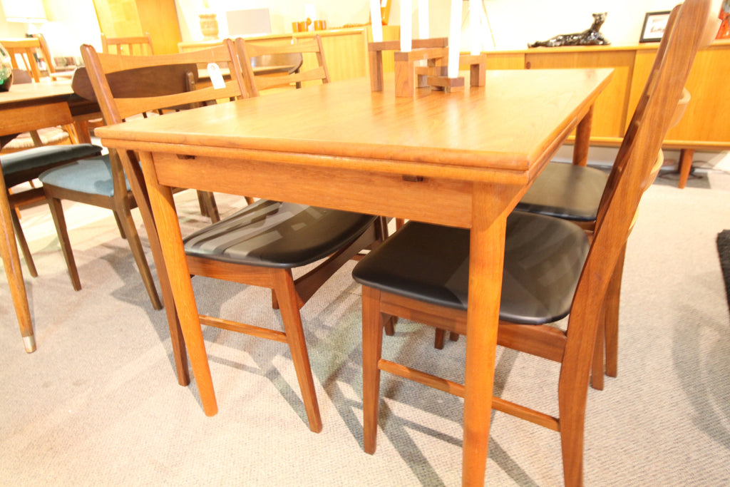 Danish Teak Extension Table