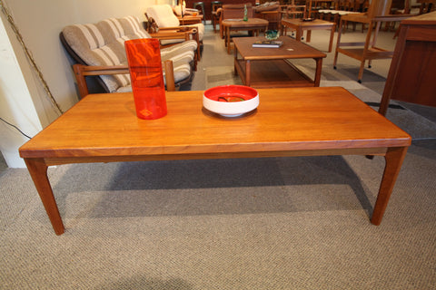 "Teak Coffee Table (53""L x 23.5""W x 16""H)"