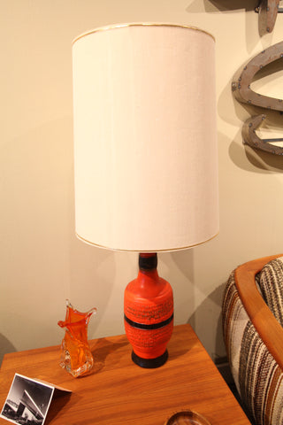 "Mid Century Modern Table Lamp (38""H)"