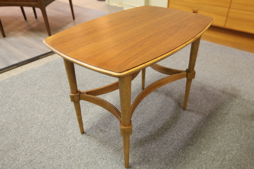 "Mid Century Walnut End Table (18.75"" x 28"" x 21""H)"
