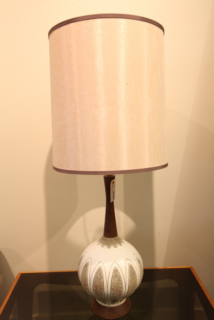 "Mid Century Table Lamp (35"" High)"