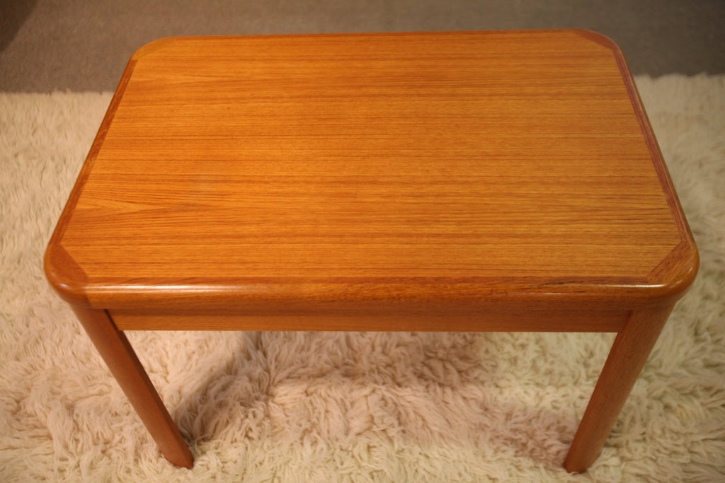 "Teak Side Table / End Table (29.5""L x 20""W x 19.75""H)"