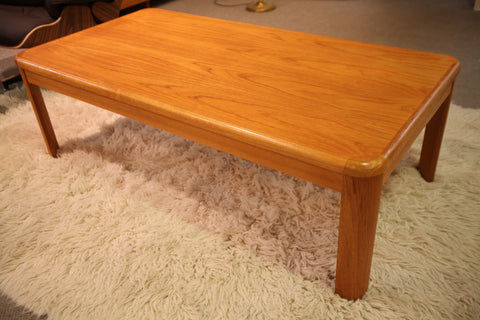 "Teak Coffee Table (55""L x 28.25""W x 17.75""H)"