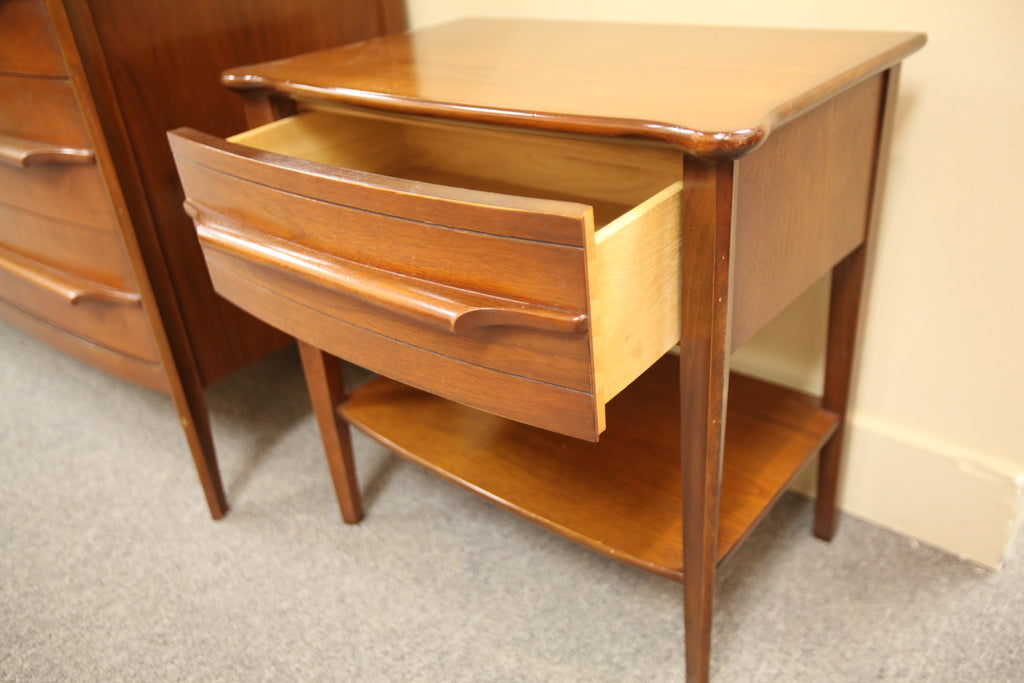 "Vintage Walnut Night Stand (21.75""W x 14""D x 22""H)"