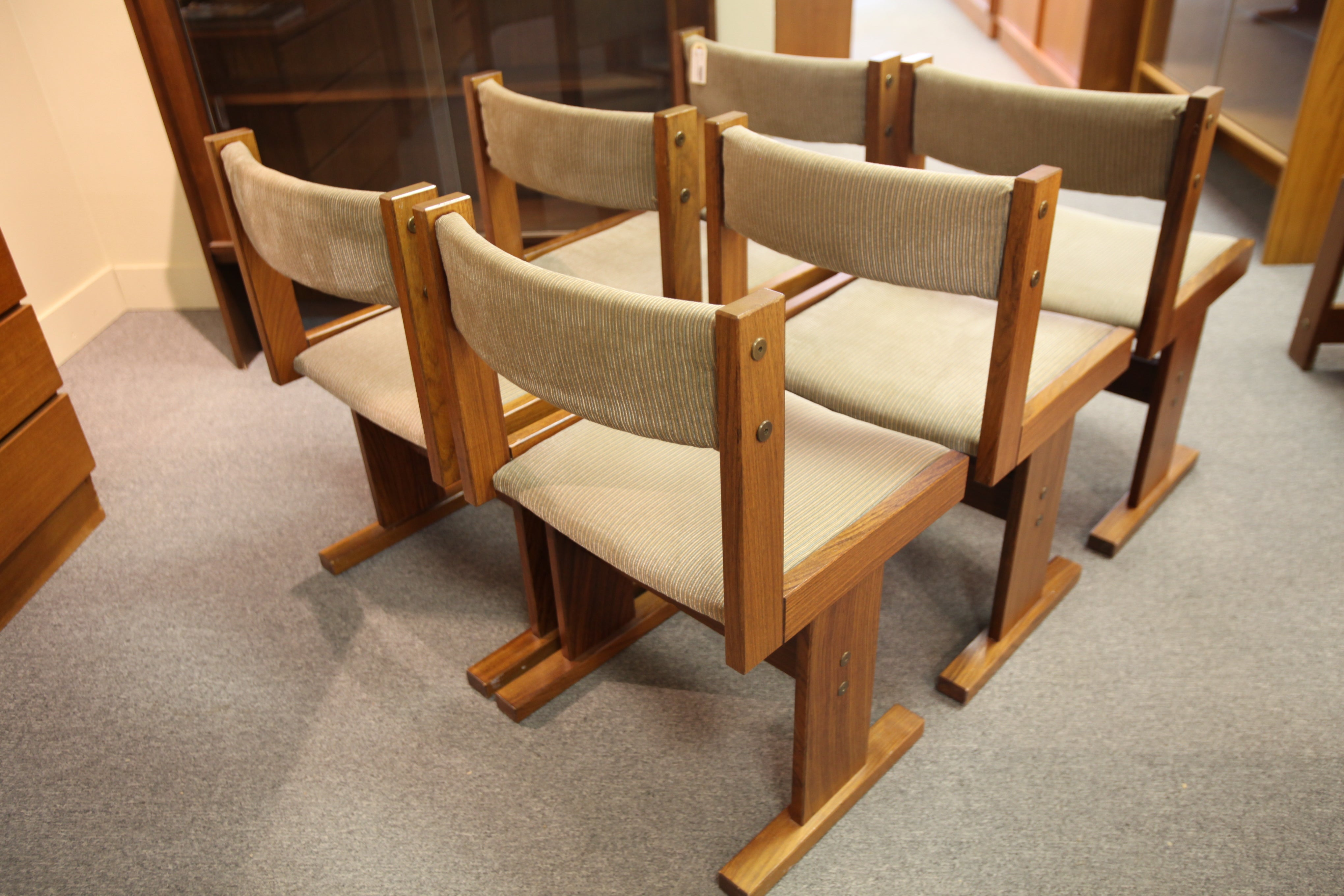 Set of 6 Gangso Mobler Rosewood Dining Chairs