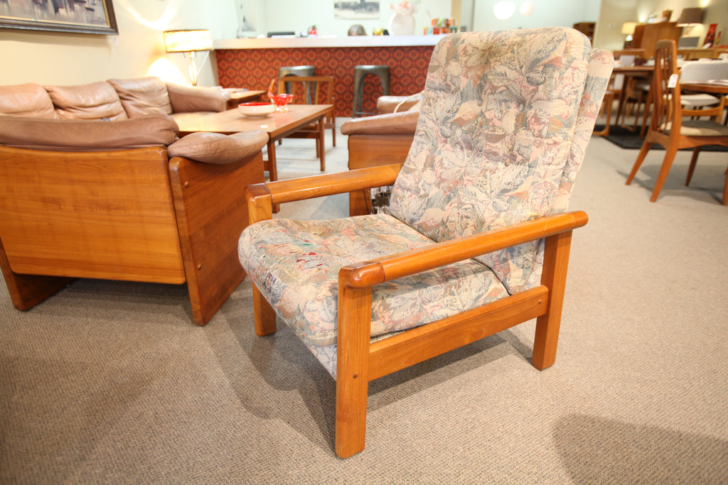 Vintage Teak Arm Chair