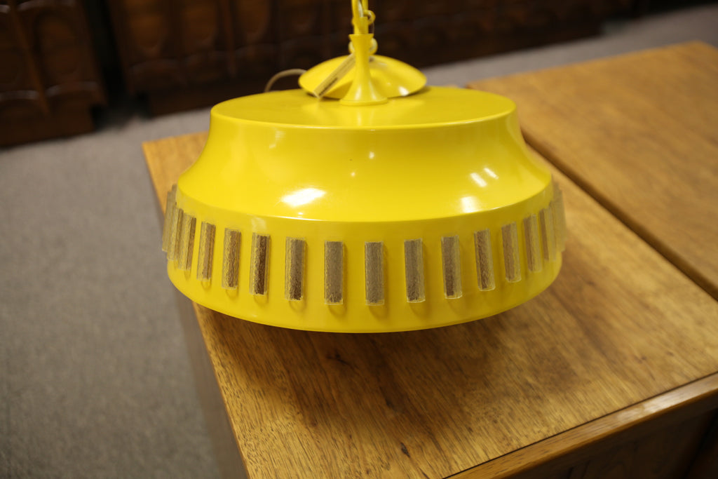 "Vintage Hanging Light Fixture (16""W)"