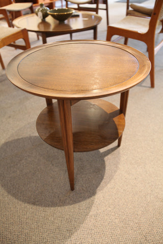 "Vintage Deilcraft Walnut Side Table (23""W x 22.5""H)"