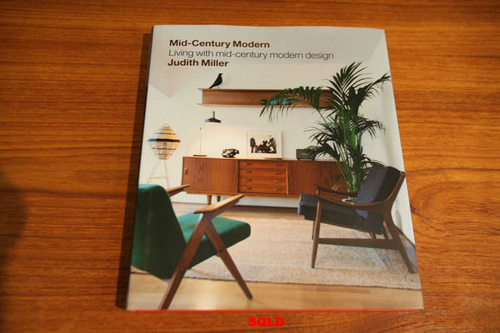 "Mid -Century Modern ""Living with mid-century modern design"" BOOK"
