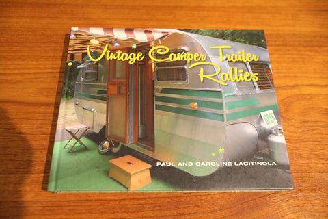 """Vintage Camper Trailer Rallies"" BOOK"